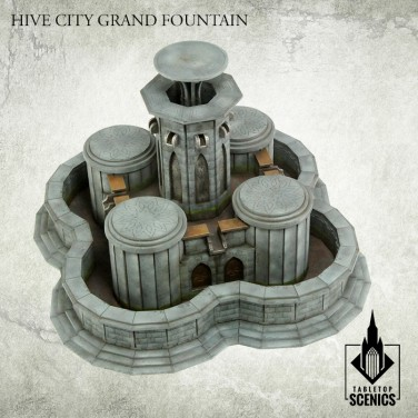 New release! Hive City Grand Fountain