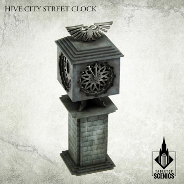New release! Hive City Street Clock