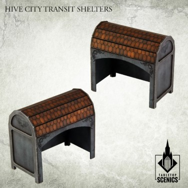 New release! Hive City Transit Shelters