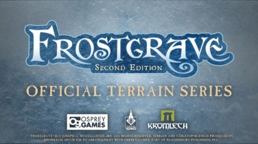 Frostgrave Second Edition Official Terrain Series