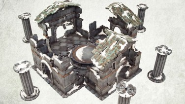 Frostgrave Product Focus - Sacred Temple