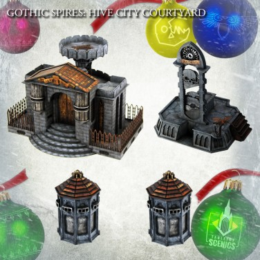 New relese! Hive City Courtyard Bundle