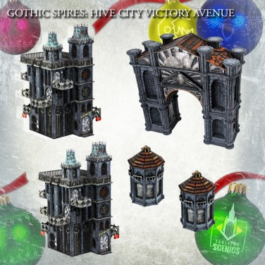 New relese! Hive City Victory Avenue Bundle