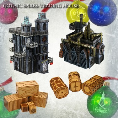 New relese! Hive City Trading House Bundle