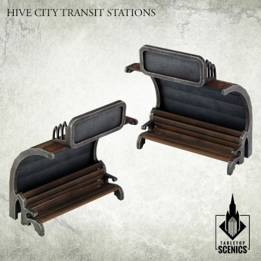 New release! Hive City Transit Stations