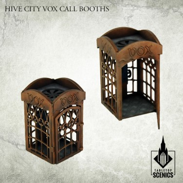 New release! Hive City Vox Call Booths
