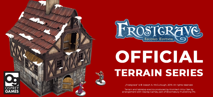 Product line focus: Frostgrave Second Edition Official Terrain Series